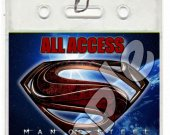 Man of Steel Set of 12 VIP Party Invitation Passes or Party Favors - Style 1
