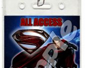 Man of Steel Set of 12 VIP Party Invitation Passes or Party Favors - Style 2
