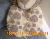 Kids Rucksack, Leo the Lion Backpack Crochet Pattern for a Beginner