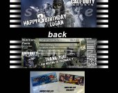 Call of Duty Ghosts Set of 12 Goodie Bag Toppers - Style 4