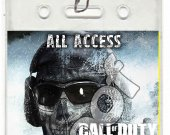Call of Duty Ghosts Set of 12 VIP Party Invitation Passes or Party Favors - Style 2