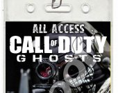 Call of Duty Ghosts Set of 12 VIP Party Invitation Passes or Party Favors - Style 3