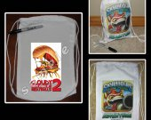 Cloudy with a Chance of Meatballs 2 Mini Drawstring Sport Pack - Great Party Favor Bags - Style 1