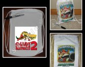 Cloudy with a Chance of Meatballs 2 Mini Drawstring Sport Pack - Great Party Favor Bags - Style 3