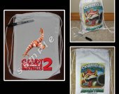 Cloudy with a Chance of Meatballs 2 Mini Drawstring Sport Pack - Great Party Favor Bags - Style 4