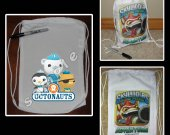 Octonauts Mini Drawstring Sport Pack - Great Party Favor Bags
