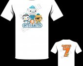 Octonauts Personalized T-Shirt - Style 2
