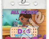 Doc McStuffins Set of 12 VIP Party Invitation Passes or Party Favors - Style 2