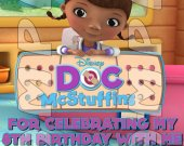 Doc McStuffins Personalized Thank You Cards