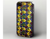 African Style Textile iPhone 4 Case, iPhone 4s Case Cover