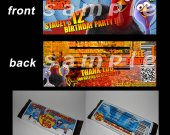 Free Birds Set of 12 Personalized Candy Bar Wrappers Party Favors