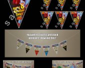 Free Birds 6 Triangle Pennant Banner