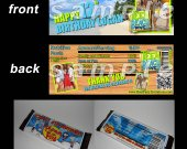 Teen Beach Movie Set of 12 Personalized Candy Bar Wrappers Party Favors - Style 2