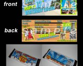 Teen Beach Movie Set of 12 Personalized Candy Bar Wrappers Party Favors - Style 4