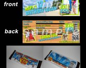 Teen Beach Movie Set of 12 Personalized Candy Bar Wrappers Party Favors - Style 5