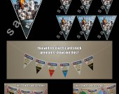 Battlefield 4 6 Triangle Pennant Banner