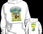 SKYLANDERS SWAP FORCE RATTLE SHAKE HOODED SWEATSHIRT (HOODIE) - Style 62