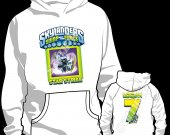 SKYLANDERS SWAP FORCE STAR STRIKE HOODED SWEATSHIRT (HOODIE)-Style 63