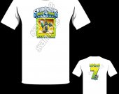 Skylanders Swap Force Doom Stone Personalized T-Shirt