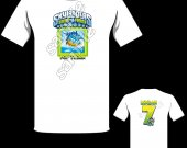 Skylanders Swap Force Pop Thorn Personalized T-Shirt