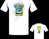 Skylanders Swap Force Punk Shock Personalized T-Shirt