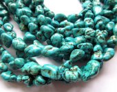 wholesale bulk turquoise stone  aqua blue  jewelry  beads 6-10mm--5strands 16inch/per strand