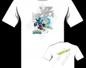Skylanders Swap Force Punk Shock Personalized T-Shirt Version 2