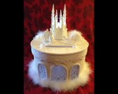 Cinderella castle carriage  Wedding quinceanera  Card Box Gift Card Box Money Box Holder--Customize your color