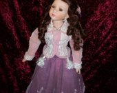 Victorian Doll- porcelain doll beautiful