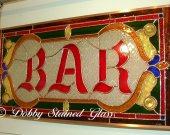 Stained Glass Panel - BAR
