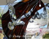 Stained Glass Panel - Eagle