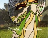 Stained Glass Panel - Angel of Beauty