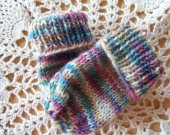 Pastel Mittens for Newborn Baby