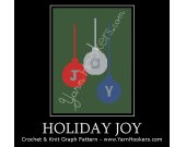 Holiday Joy - Afghan Crochet Graph Pattern Chart - PDF Download