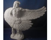 Native American Indian w/ Eagle Wings to the Side - Paint Your Own Ceramics