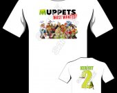 Muppets Most Wanted Personalized T-Shirt - Style 13