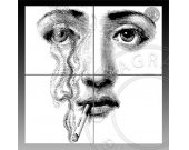 EXTRA LARGE Face III - 48 inch Poster - Digital Download CP-328 - Print It Yourself - Wall Decor