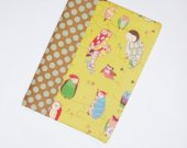 Journal - Fabric Covered Notebook  - Owls - Diary - Back to School