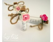 Secret message, Bottle, Bridesmaid, Wedding, Favor, ECO, Kraft, Will you be my Bridesmaid