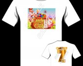 CANDY CRUSH Personalized T-Shirt - Style 5