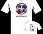 CAPTAIN AMERICA Personalized T-Shirt - Style 2