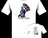 CAPTAIN AMERICA Personalized T-Shirt - Style 6