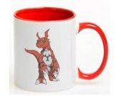 Digimon Guilmon Ceramic Coffee Mug CUP 11oz
