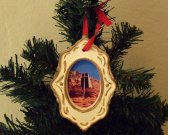 Chapel of the Holy Cross Ceramic Ornament