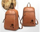 SONIC THE HEDGEHOG Knuckles Genuine Leather Backpack