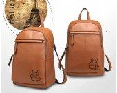 MY NEIGHBOR TOTORO Genuine Leather Backpack