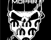 "Decal Mopar Cars Trucks Windows Bumper Stickers 8"""