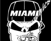 "Decal Miami Heat 10"""