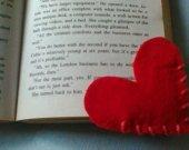 2 hearts bookmarks