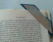 2 pastelpainted bookmarks
